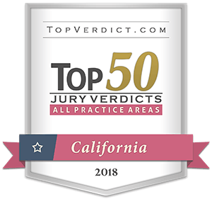 MRHFM Mesothelioma Law Firm - TopVerdict.com Top 50 Jury Verdicts - All Practice Areas California 2018